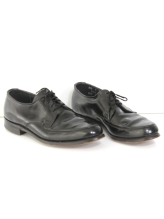 1980's Mens Accessories - Leather Oxford Shoes