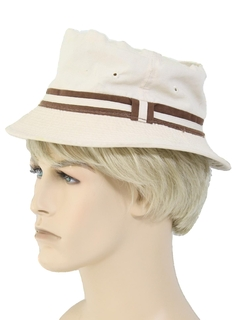 1980's Mens Accessories - Bucket Hat