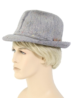 1960's Mens Accessories - Mod Fedora Hat