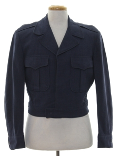 1950's Mens Mod Military Jacket