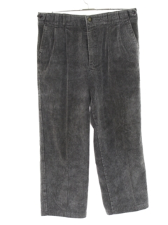 1990's Mens Wicked 90s Cropped Corduroy Pants