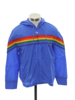 1980's Unisex Totally 80s Wind Breaker Jacket