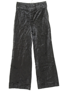 1970's Womens Velveteen Flared Pants
