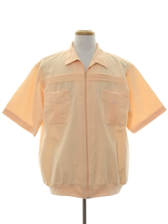 1980's Mens Totally 80s Resort Wear Style Shirt
