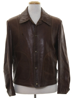 1970's Mens Leather Jacket