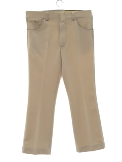 1970's Mens Flared Jeans-Cut Style Leisure Pants