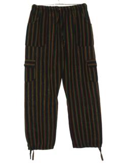 1980's Womens Guatemalan Style Hippie Pants