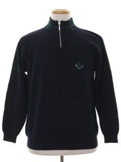 1980's Mens Preppy Golf Sweater