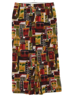 1970's Womens Womens Hippie Skirt