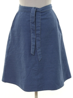 1970's Womens Denim Skirt