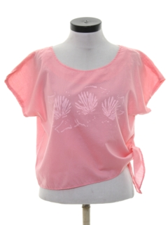 1990's Womens Hawaiin Style Shirt