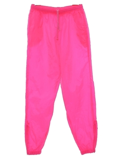 1990's Womens 90s Baggy Track Pants