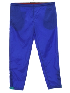 1980's Mens Totally 80s Track Pants