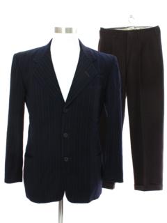 1930's Mens Combo 30s Suit