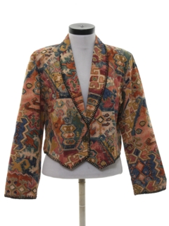 1990's Womens Hippie Style Jacket