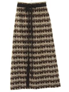 1970's Womens Maxi Skirt