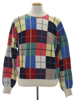 1990's Mens Preppy Golf Sweater