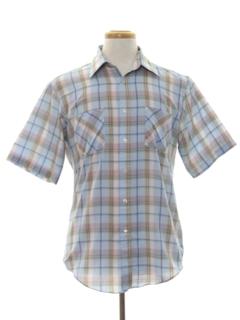 1980's Mens Print Shirt