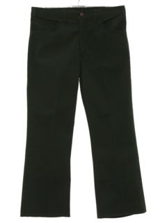 1960's Mens Cropped Flared Jeans-cut Pants