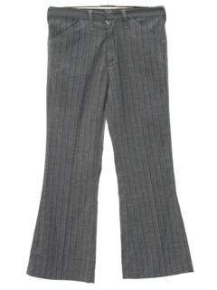 1960's Mens Flared Mod Jeans-cut Pants