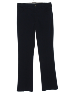 1970's Mens Flared Jeans-cut Pants