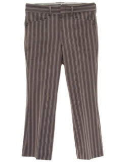 1960's Mens Flared Mod Leisure Pants