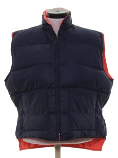 1990's Womens Reversible Ski Vest Jacket