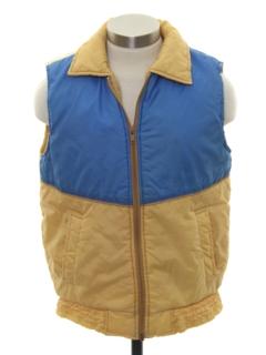 1980's Unisex Ski Vest Jacket