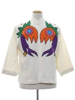 1970's Unisex Designer Shirt