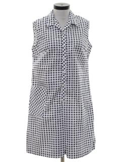 1970's Womens Skort Dress