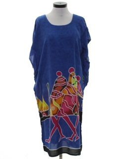 1990's Womens Ethnic Hippie Dress