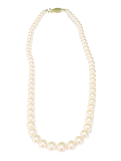 1980's Womens Accessories - Jewelry Pearl Necklace