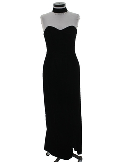 1990's Womens Wicked 90s Maxi Prom Or Cocktail Dress