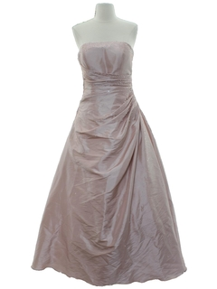 1990's Womens Maxi Prom Or Cocktail Dress