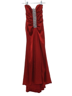1990's Womens Asymmetrical Prom Or Cocktail Dress