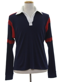 1980's Mens Rugby Style Shirt