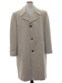 1970's Mens Overcoat Trench Jacket