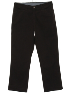 1980's Mens Work Pants Slacks