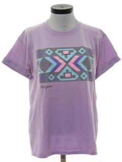 1980's Womens Totally 80s Travel T-shirt