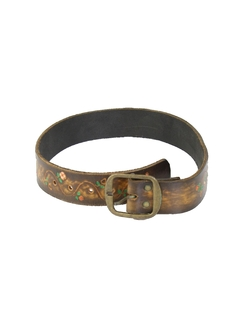 1970's Womens Accessories - Leather Belt