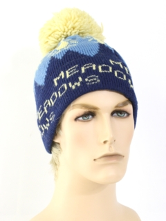 1970's Unisex Accessories - Knit Hat