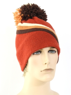 1980's Unisex Accessories - Knit Hat