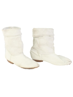 1980's Womens Accessories - Totally 80s Leather Boots Shoes