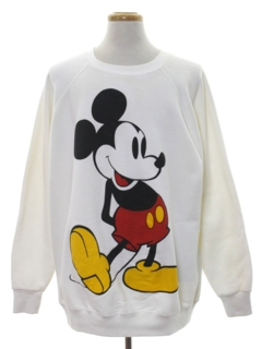 1980's Unisex Totally 80s Disney Sweatshirt