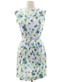 1960's Womens Mod Sheath Style Dress
