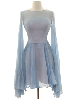 1960's Womens Mini Prom or Cocktail Dress
