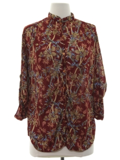 1970's Womens Oversized Shirt