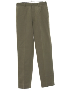 1950's Mens Mod Flat Front Pants