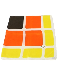 1960's Womens Accessories - Mod Scarf