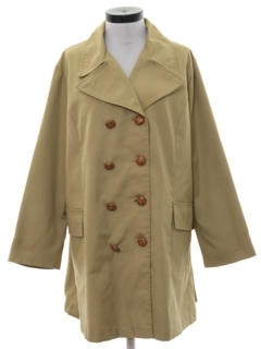 1970's Womens Overcoat Trench Jacket